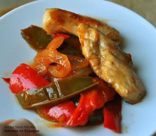 recette fajitas poulet mexique