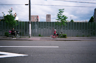 Morning stroll with disposable camera in Kyoto