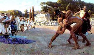 riassunto sullo sport nell'antica Grecia