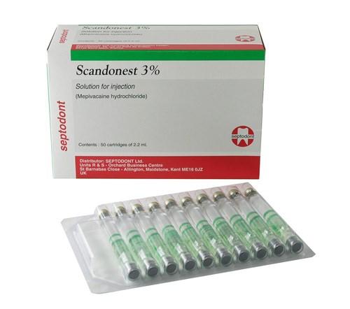 Thuốc tê xanh Pháp Septodont vat lieu nha khoa gia re tphcm