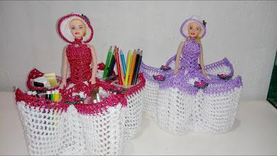 Como fazer artesanato com boneca