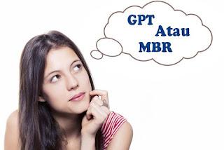 cara mengetahui tipe partisi komputer/ leptop kita GPT atau MBR