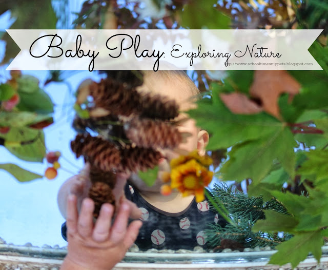 simple nature exploration for babies and toddlers