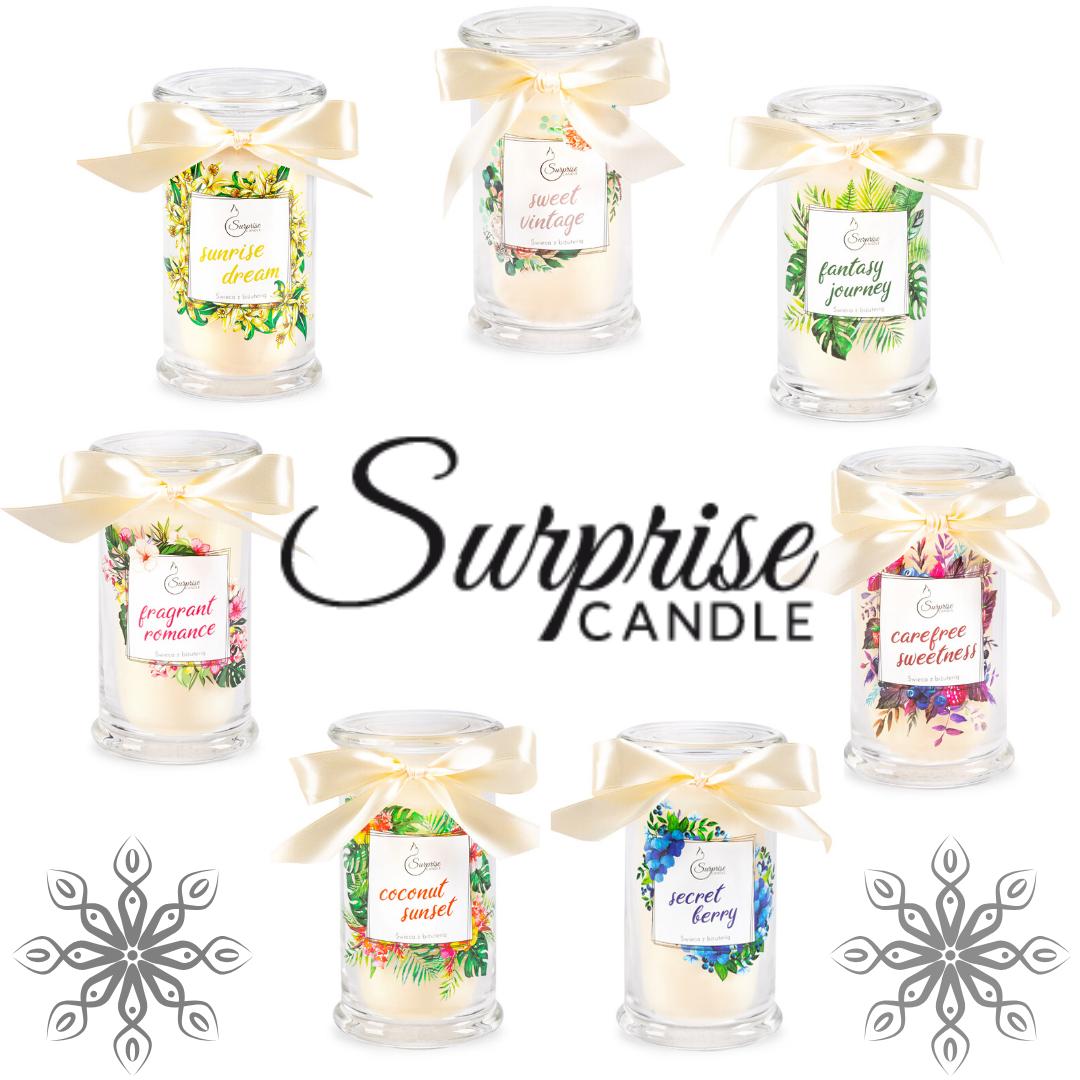 SURPRISE CANDLE - świece, które kryją w swym wnętrzu prawdziwe klejnoty!