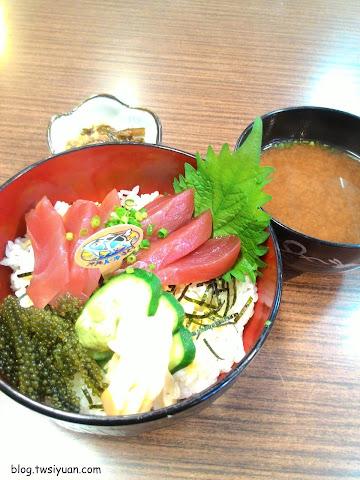 午餐鮪魚丼飯