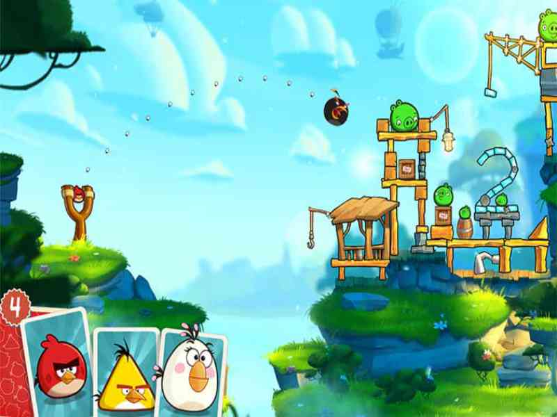 Download angry birds pc game setup file for free (Windows)
