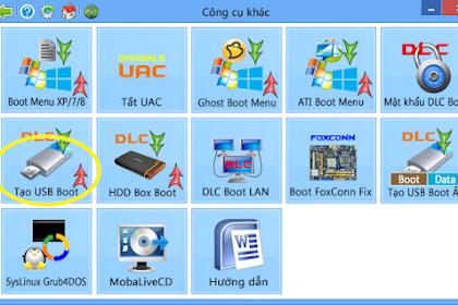 Cách tạo USB Boot  15.5 - 2020 đơn giản đầy đủ nhất