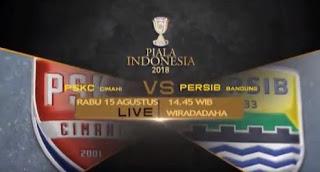 PSKC Cimahi vs Persib Bandung 15 Agustus 2018 Disiarkan Langsung RCTI