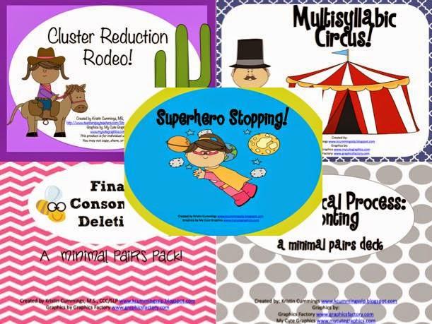 http://www.teacherspayteachers.com/Product/Phonological-Process-Bundle-1303817