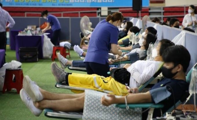 Donasi Plasma Darah oleh Anggota Gereja Shincheonji Memfasilitasi Pengembangan Pengobatan untuk Covid-19