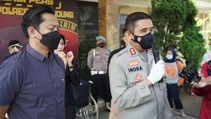 Modus Gembos Ban, Empat Pelaku Ditangkap Satreskrim Polresta Bandung