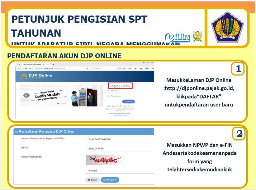 Pajak Online: Cara Mudah Pengisian SPT Pajak Tahunan Bagi PNS Secara