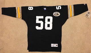 Pittsburgh Steelers Jack Lambert Champion Throwbacks jersey