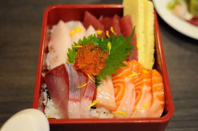Barashi Tei Food Review Chirashi Lunarrive Singapore Lifestyle Blog