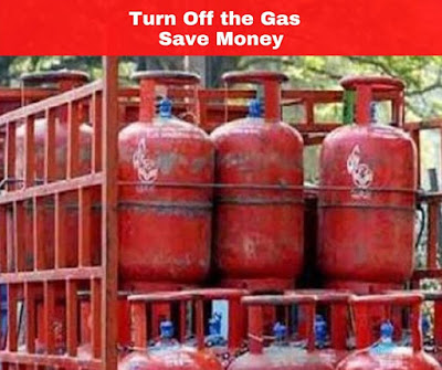 Turn Off the Gas and Save Money