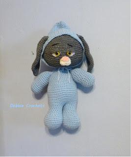 Bunny Rabbit in PJ's