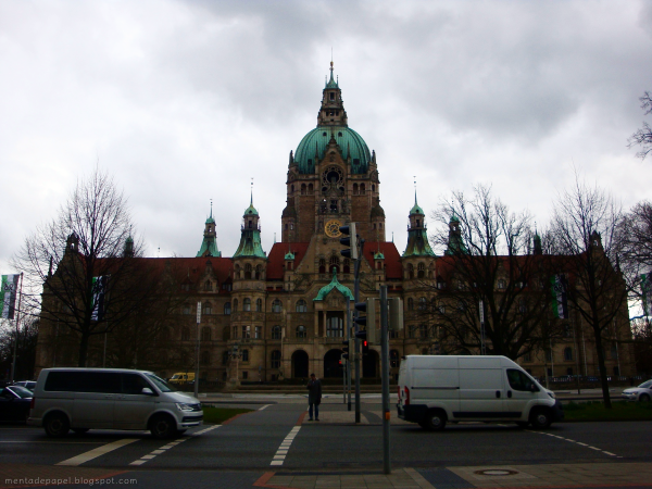 Neues Rathaus - Nuevo municipio de Hannover