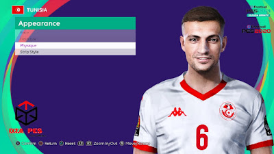 PES 2021 Faces Rami Bedoui by Dzayer PES