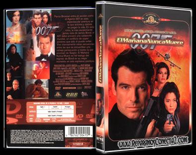 007: el Mañana nunca muere [1997] | Caratula | imagenes cine clasico
