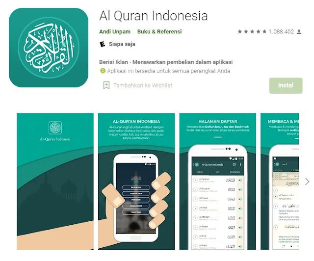1. Al Quran Indonesia