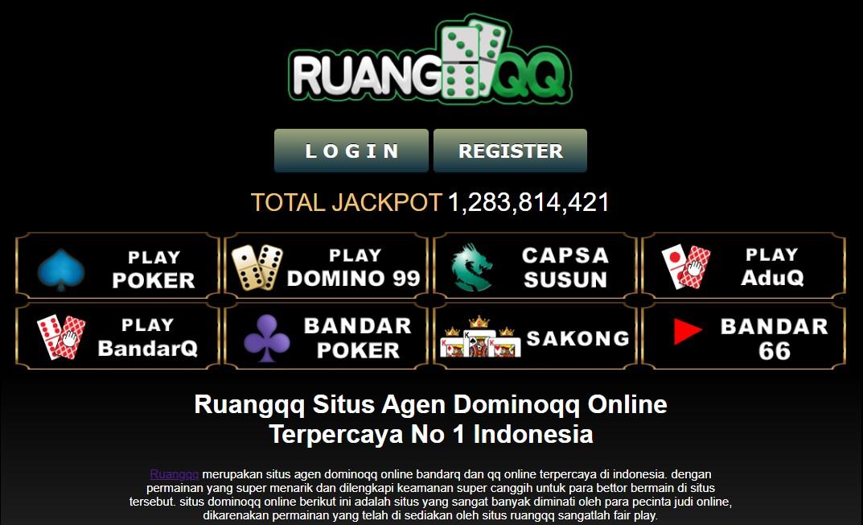Situs Poker Online Ruangqq Agen Dominoqq Qq Online Terpercaya Paling Top