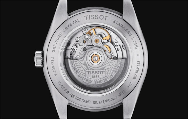 Tissot Gentleman, the Powermatic 80 Silicium movement