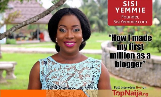 sisiyemmie nigerian blogger