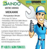 Loker Surabaya di PT. Sarana Agro Indonesia Agustus 2020
