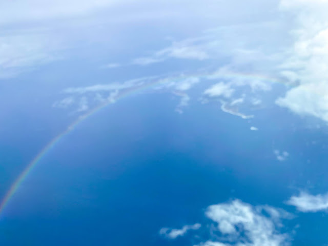 人生中見過最巨型嘅彩虹 the biggest rainbow I have ever seen