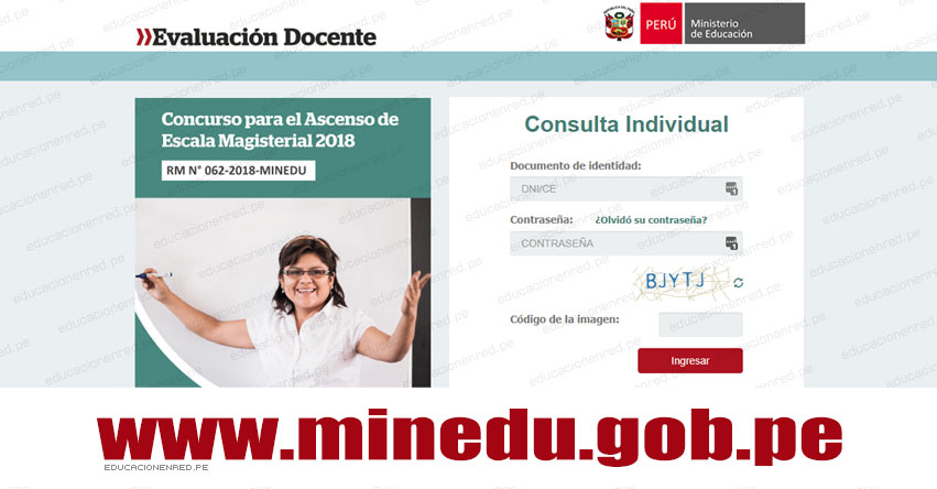 MINEDU: Resultados Examen de Ascenso de Escala Magisterial 2018 (Miércoles 25 Julio) www.minedu.gob.pe