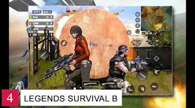 Game Battle Royale Offline Android Legends Survival Battlegrounds