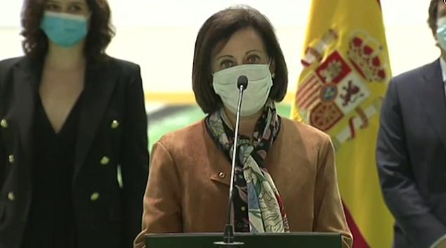 Margarita Robles en Madrid