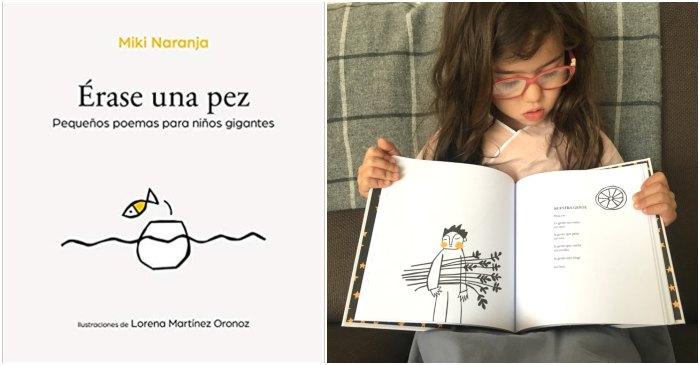 mejores libros de poesía infantil para niños, Érase una pez Miki Naranja