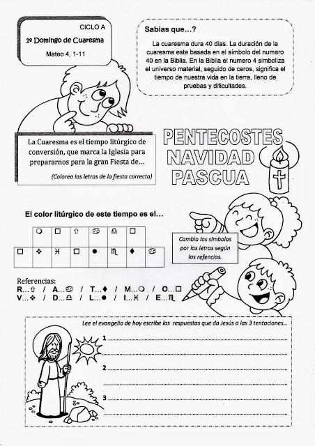 Parroquia La Inmaculada: Domingos de Cuaresma y Miércoles de ceniza ...