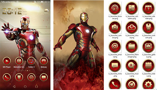 Iron Man V2 Theme For Vivo