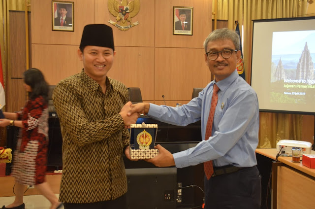 Pemkab Trenggalek Jajaki Kerjasama Budaya dan Perekonomian dengan Pemerintah Daerah Istimewa Yogyakarta