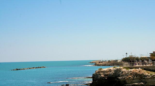 mare, cielo, scogli, spiagge