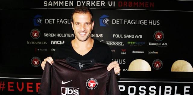 OFICIAL: Rafael van der Vaart é o novo reforço do Midtjylland
