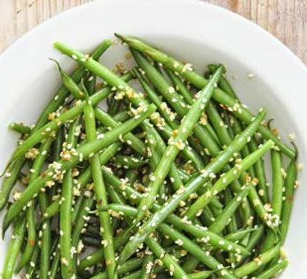 Lemony Ginger Green Beans Recipe
