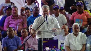 DUVERGE: Gonzalo Castillo dice agregará valor y consolidará obra de gobierno del presidente Medina a favor de la gente