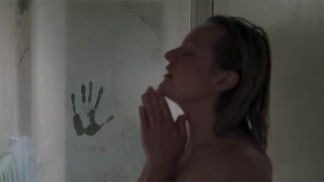 elisabeth moss in the shower