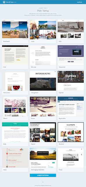 Cara Membuat Blog WordPress terbaru 2015