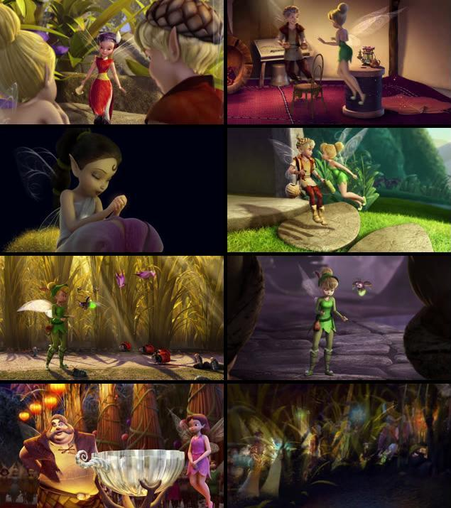 Tinker Bell And The Lost Treasure 2009 Dual Audio Hindi 480p BRRip 300mb