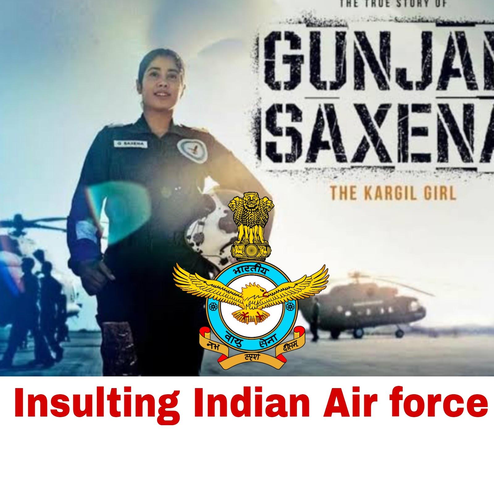Disrespecting Indian Air force In Gunjan Saxena Series