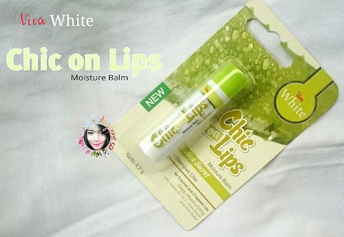 Review Viva White Chic on Lips Moisture Balm Aloe Secret