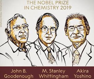 5- Nobel Prize of 2019 in Chemistry announced