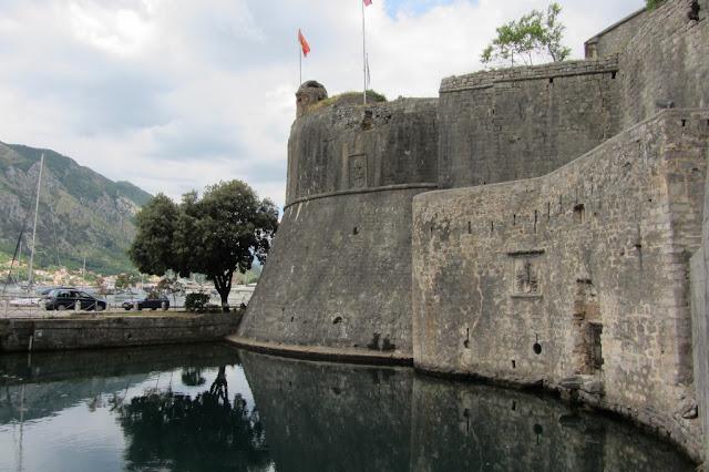 Montenegro, Kotor, stadsmuur
