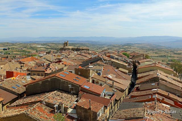 Vistas desde la torre abacial de Laguardia