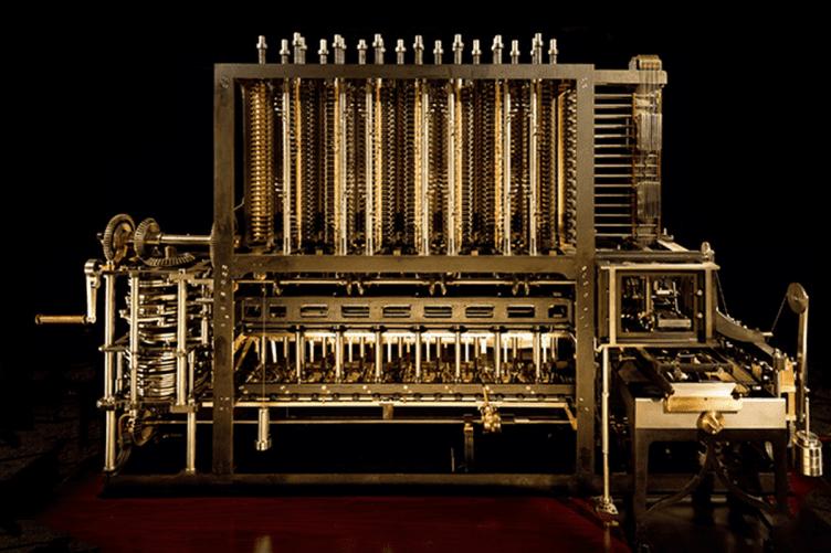 Máquina de diferenças de Charles Babbage