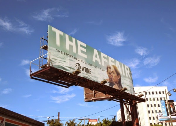 The Affair series premiere billboard